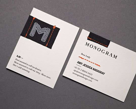 Designed by Monogram Country Australia u201cBusiness Card - The - resume business cards