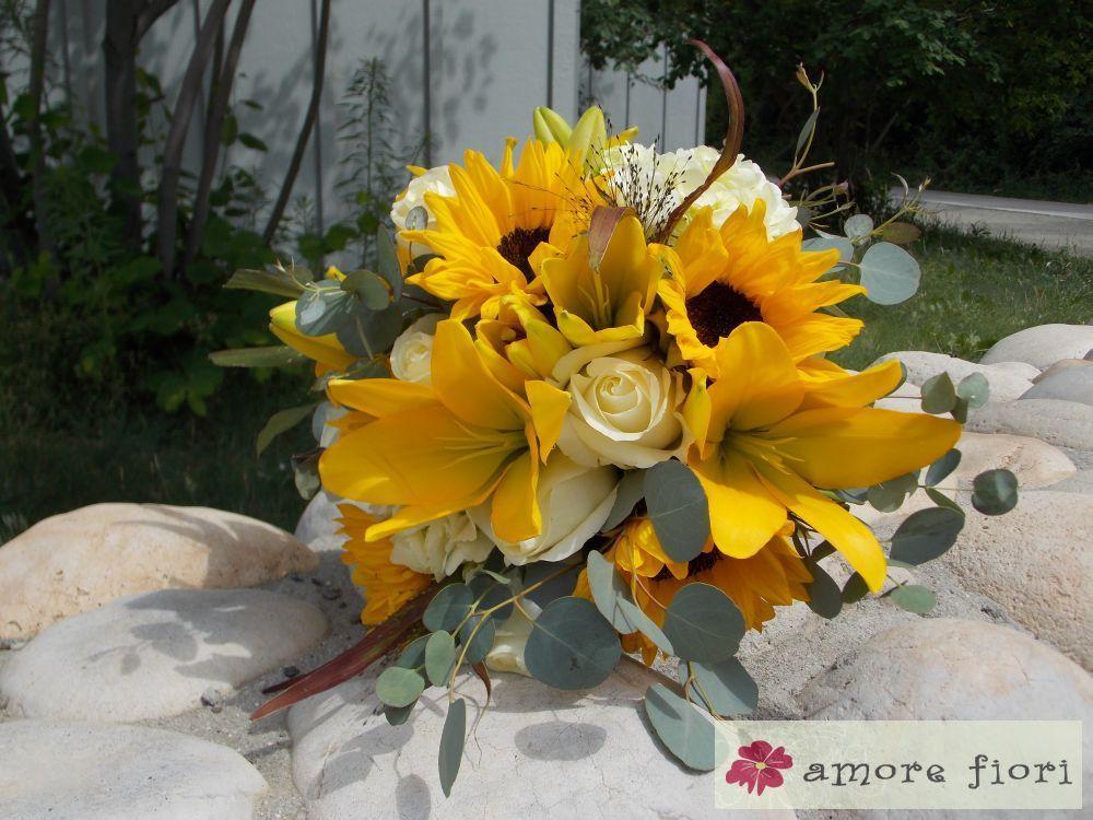 Rustic Wedding Flowers Bouquet #WeddingFlowers