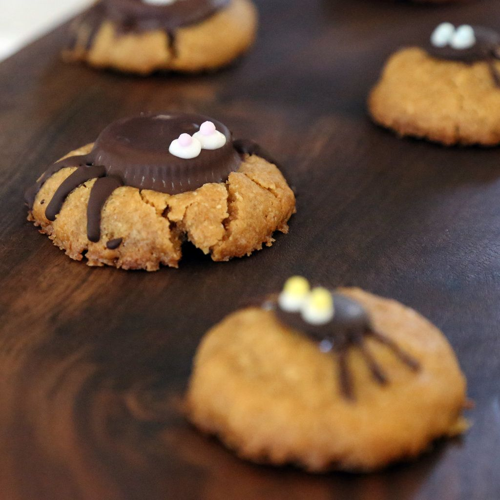 How to Make Spider Peanut Butter Cookies | POPSUGAR Food