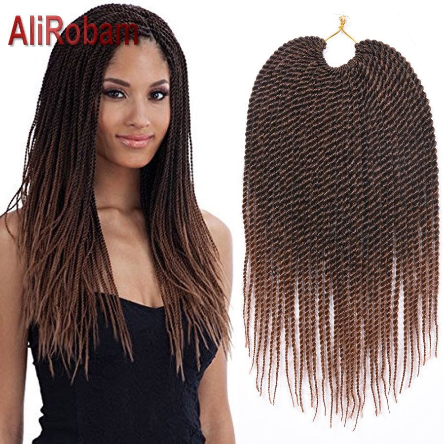 "Photo of 14"" Freetress Crochet Braid Marley Senegalese Twists Croche…"