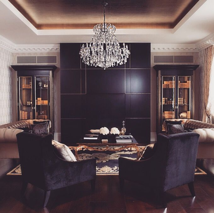 pιnтereѕт luxuryxqueen  gold living room gold living