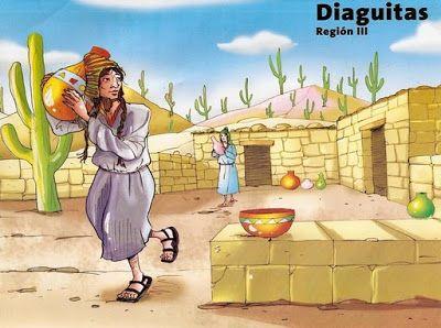 conozcamos chile Dibujos de pueblos originario de Chile para