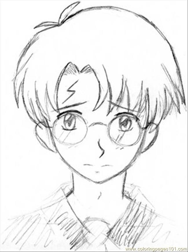 Harry Potter coloring page Coloring