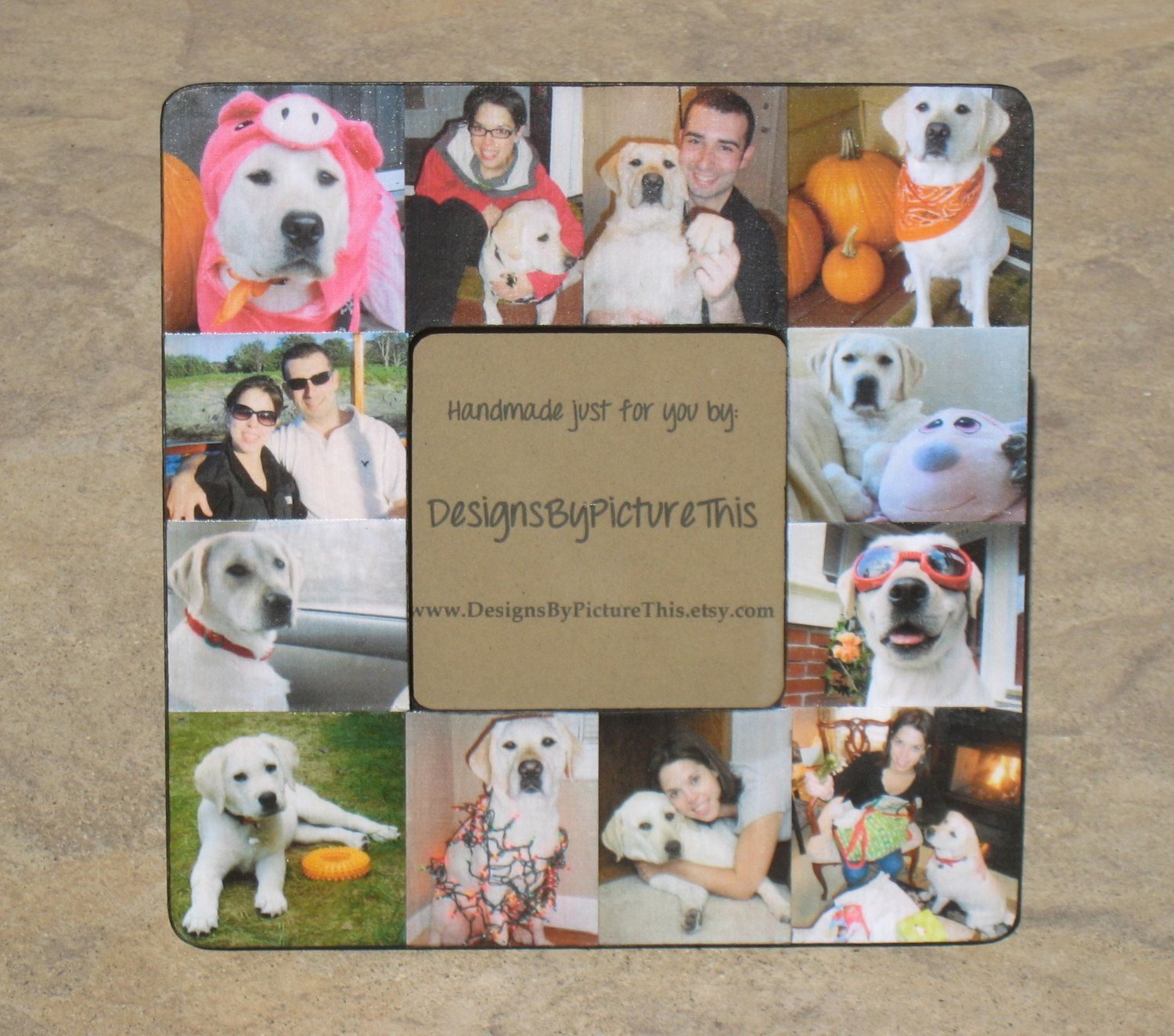 Pet Collage Picture Frame | Pet Collage | Pinterest | Hunde