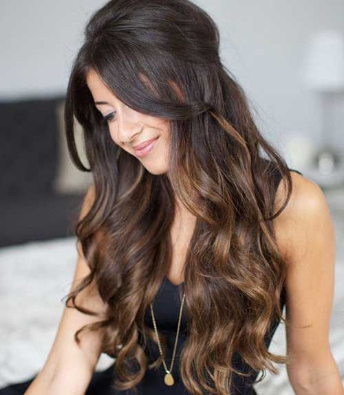 Ladies Hairstyles Pleasing Lady Hairstyles For Long Hair  Bronde Balayage Ombré  Pinterest