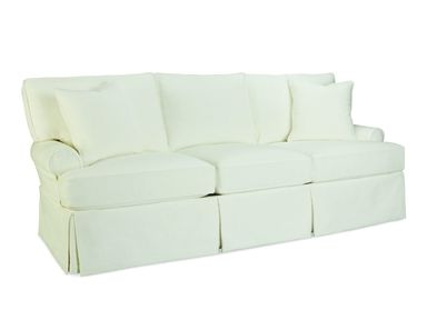 Shop For Lee Industries Slipcovered Sofa, And Other Living Room Sofas At Kathy  Adams Interiors In Dallas, TX, Plano, Texas. Shown In Fabric Boomer White.