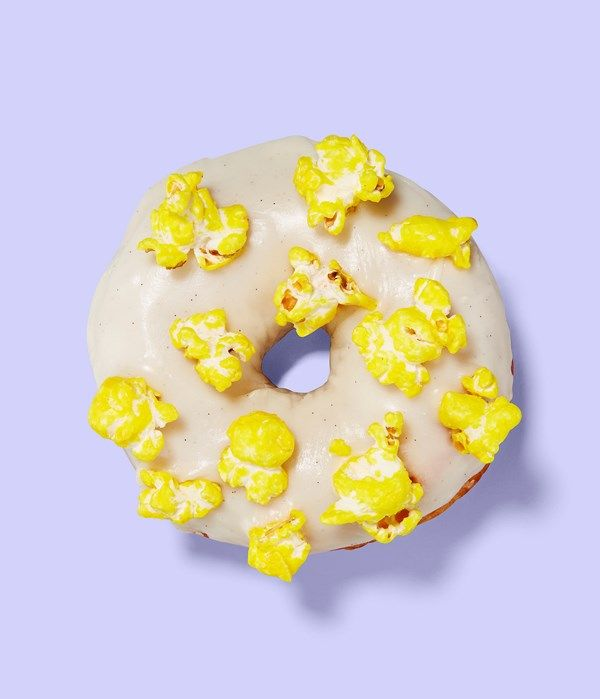 Popcorn donut, perfect to serve at your wedding reception