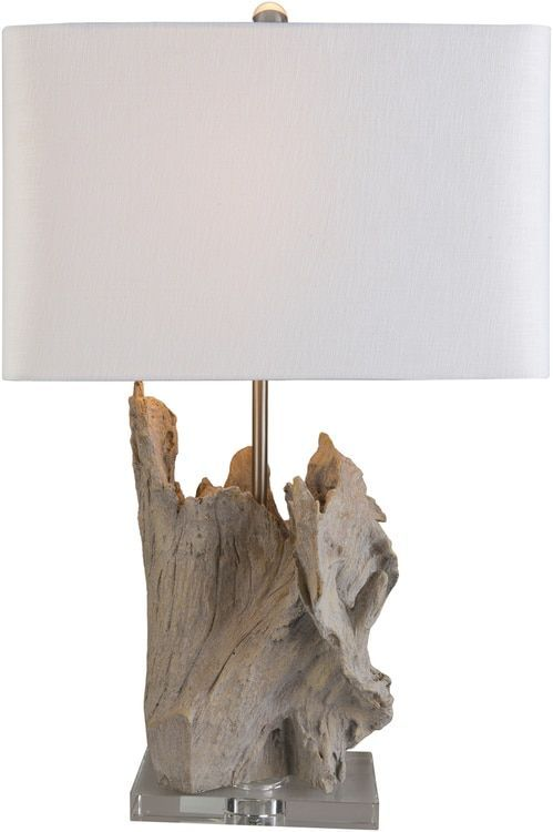 Darby driftwood table lamp driftwood coastal and room