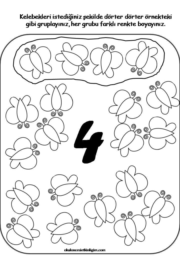 Pin by Canan on okuma yazmaya hazirlik | Pinterest | Math ...