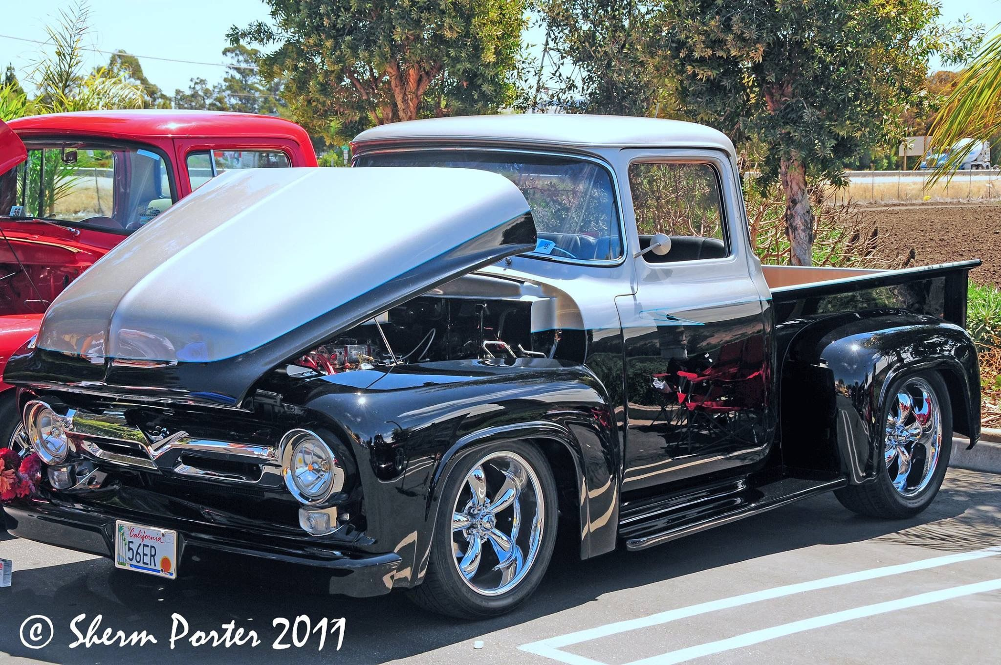 Pin By Craig Mcconnochie On 56 F100 Pinterest Ford Trucks 1955 Rat Rod 1956 Truck Cool