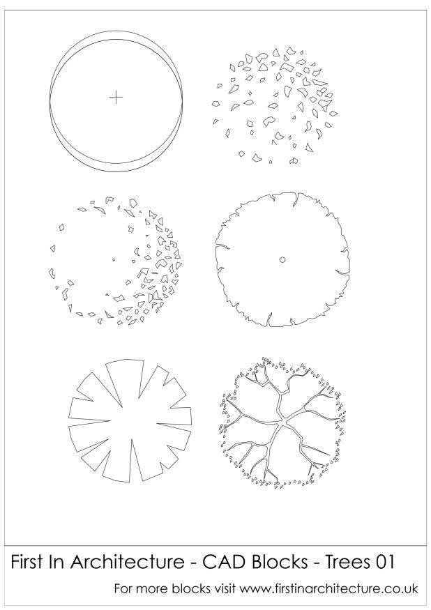Architecture Drawing Trees cad blocks trees | png | pinterest | cad blocks, architecture