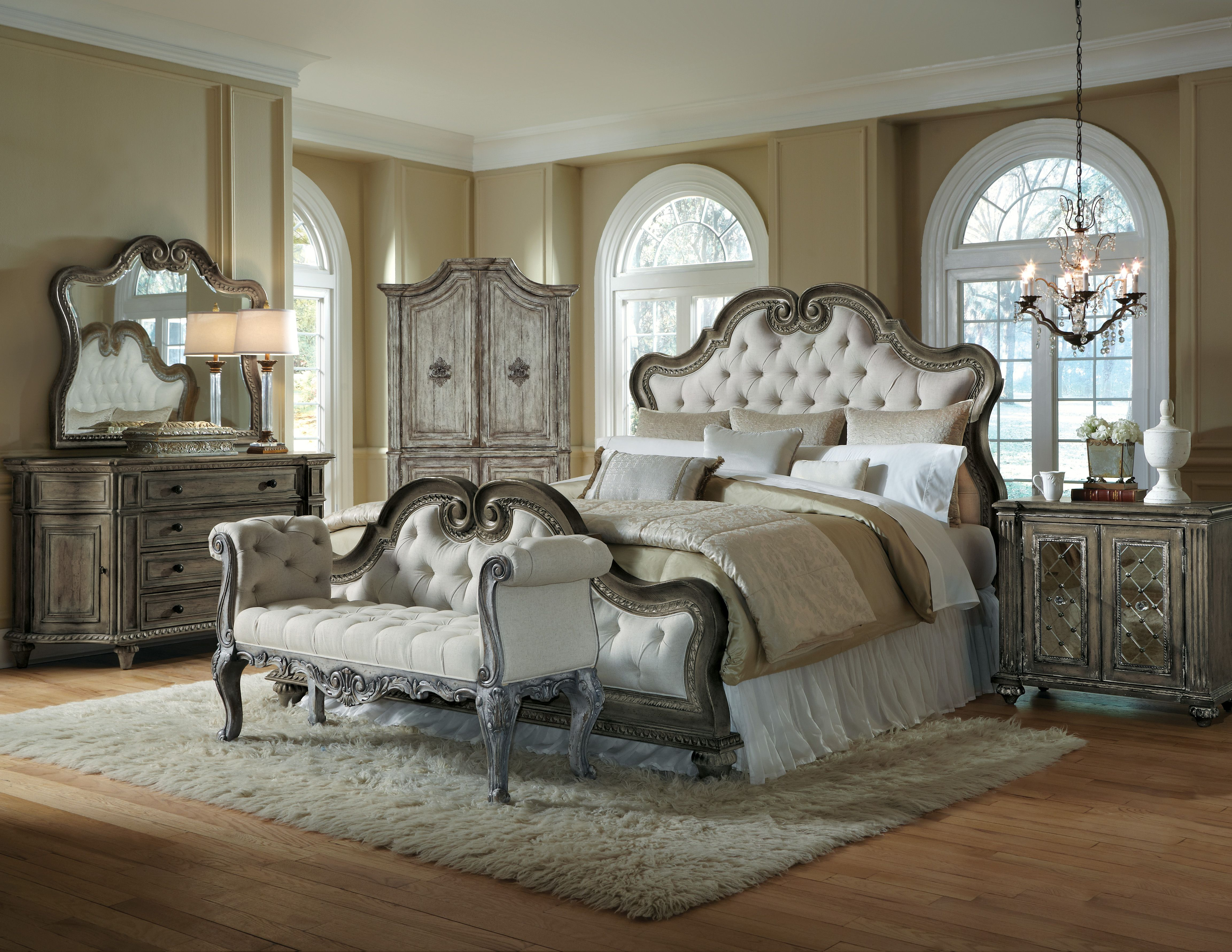 White arabella bedroom set from Accentrics Home by Pulaski ...