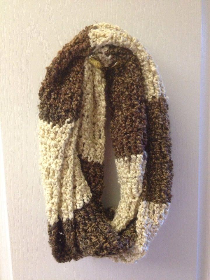 Triple Crochet Infinite Scarf Pattern The Hook Up Crafty