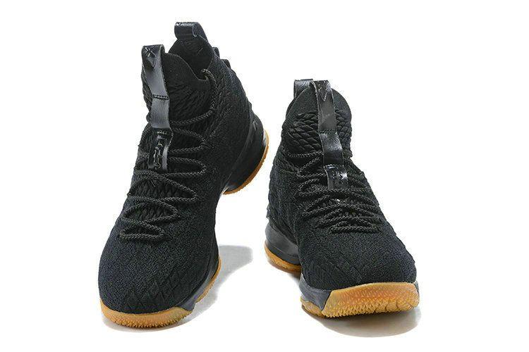 2018 Nike Shoes LeBron James 15 XV Black Gum   images   Nike shoes ... d84a67b2bf84
