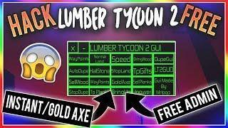 Unlimited Money Lumber Tycoon 2 Hack Golden Insta Axe