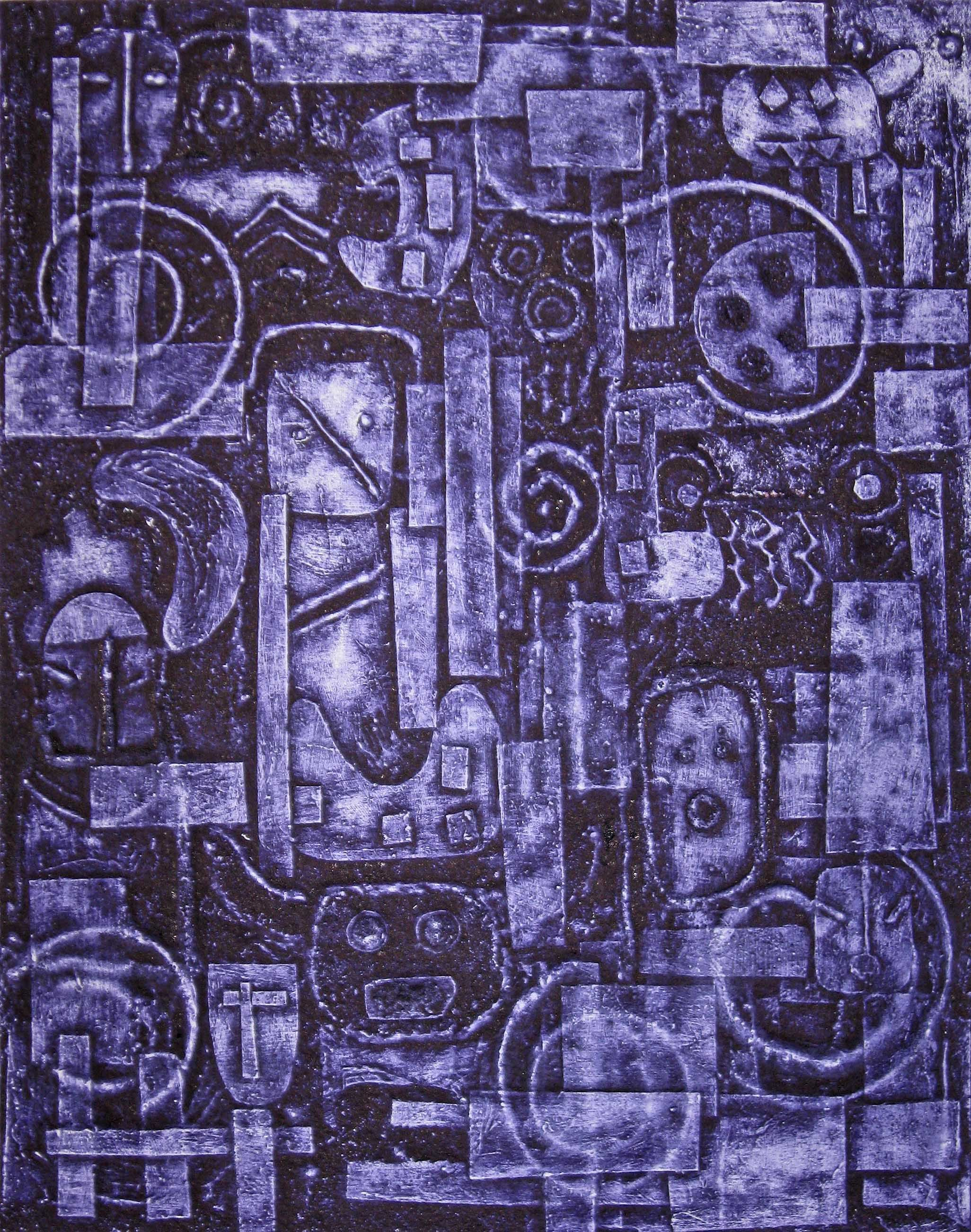 Collagraph Diptych - Lessons - Tes Teach