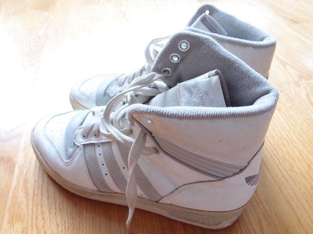 Vintage Adidas Rivalry Hi Patrick Ewing Shoes 80s 90s Run Dmc Made