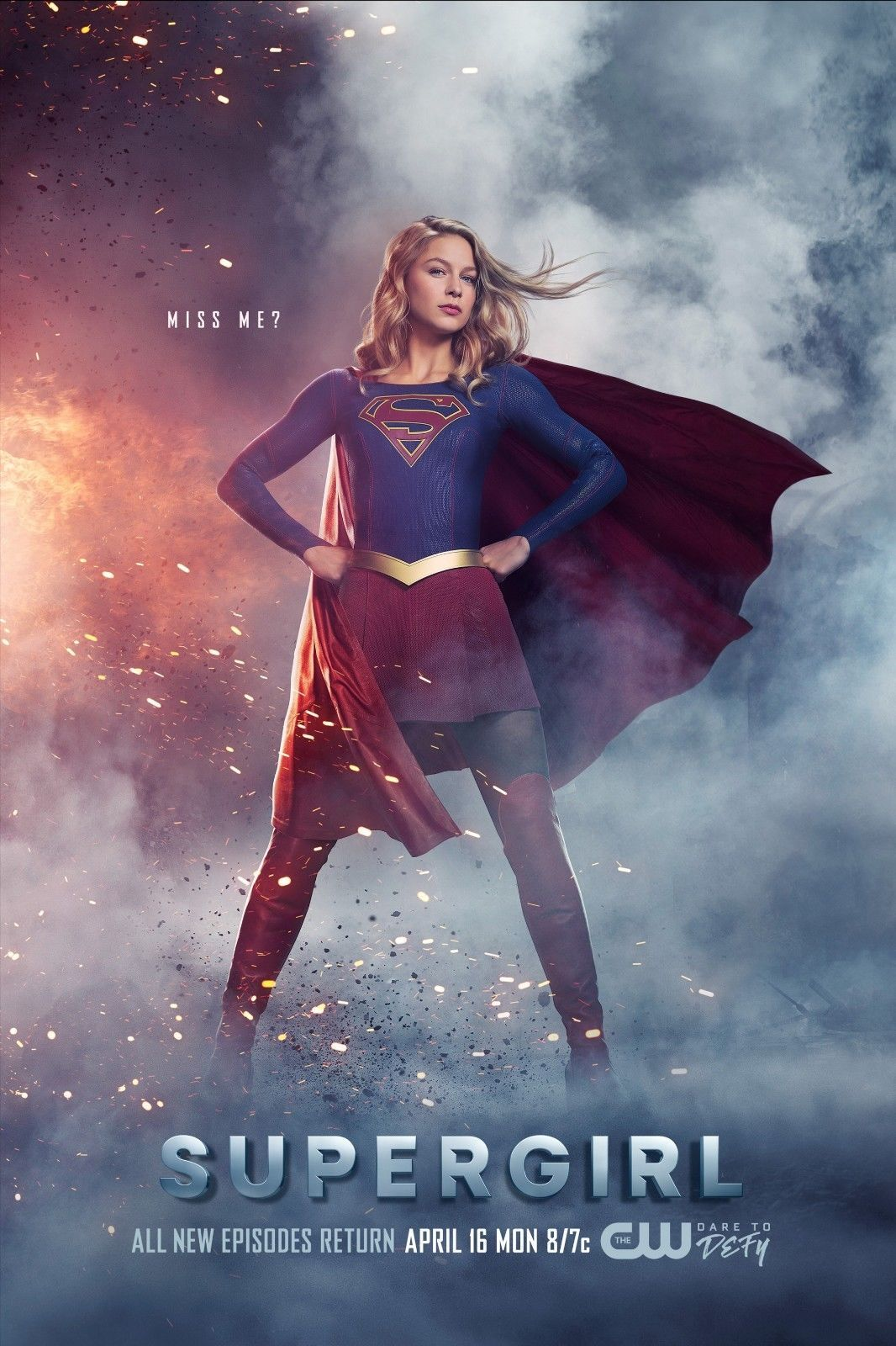 9 9 Supergirl Tv Series Poster Season 3 Melissa Benoist Print 13x20 24x36 32x48 Ebay Collectibles Supergirl Season Supergirl Tv Supergirl Superman