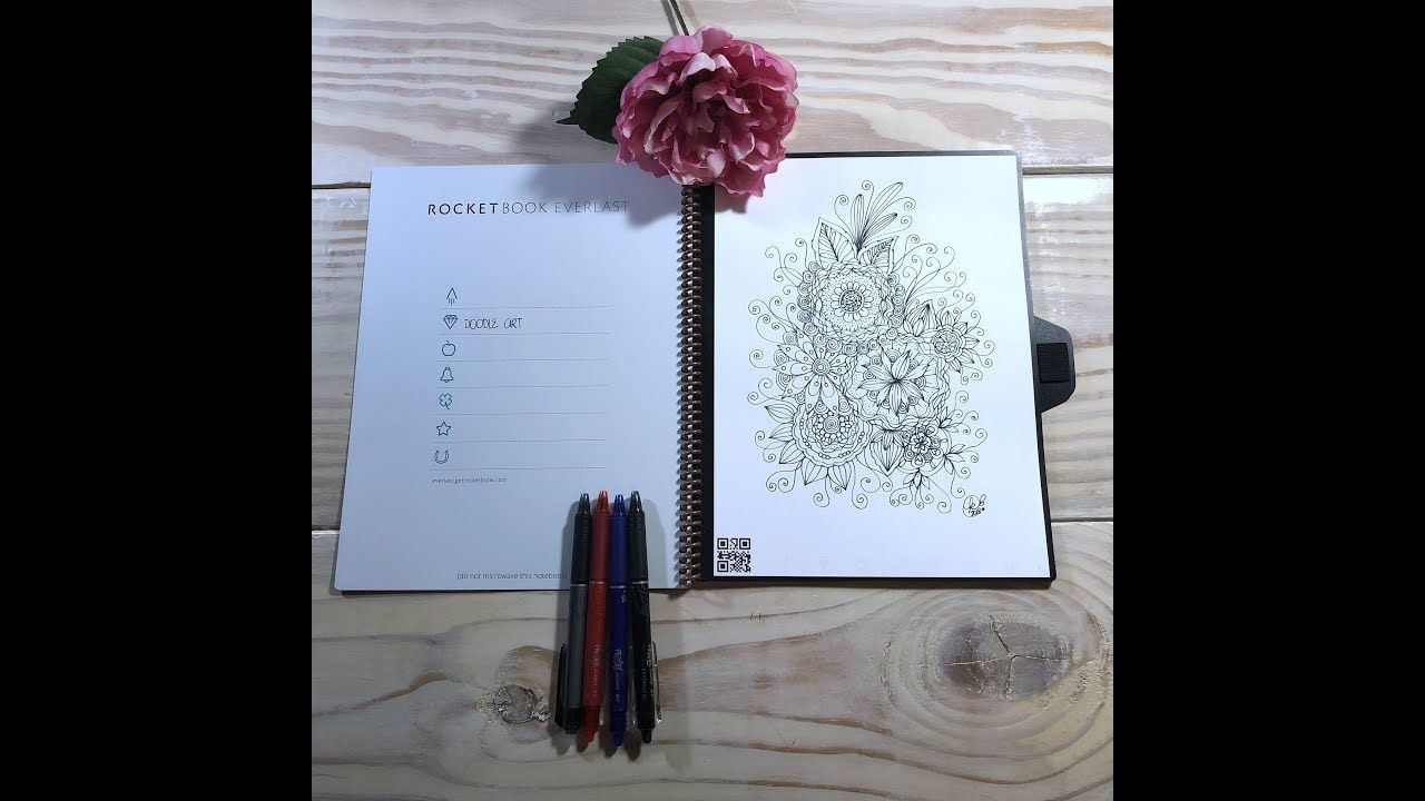 Rocketbook Everlast Kcdoodleart Everlast Coloring Books Drawings