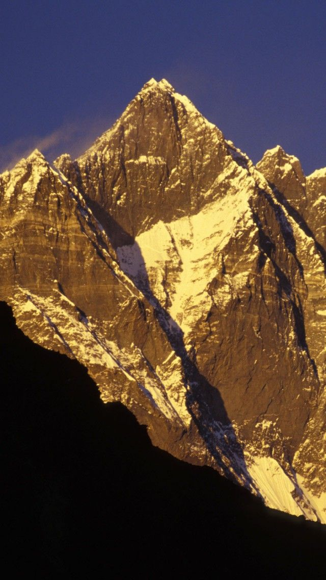 Lhotse iPhone 5 wallpapers, backgrounds, 640 x 1136