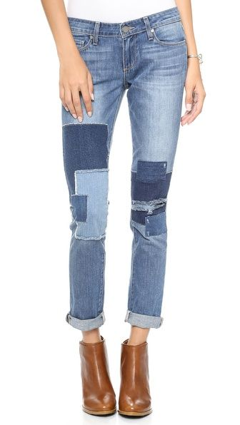 2579cde0249 Jimmy Jimmy Skinny Jeans with Patches | ideas | Denim, Jeans, Skinny ...
