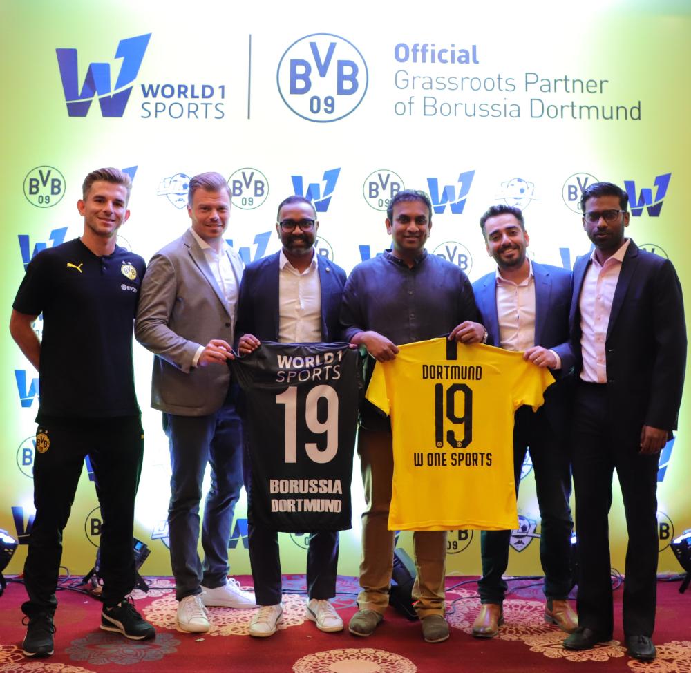 Borussia Dortmund Launch Youth Football Development Programme In India Sports Lounge Borussia Dortmund Youth Football Dortmund