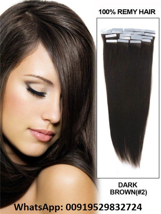 We Provide 20 Inch Straight Color Clip In Hair Extensions On