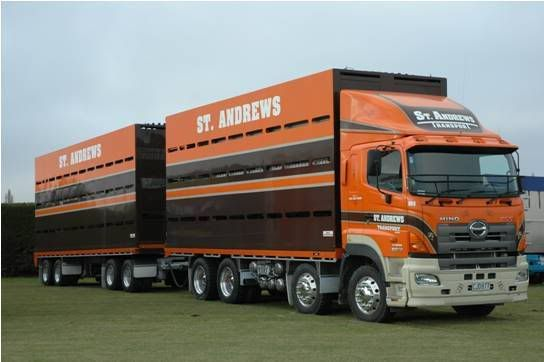 HINO in New Zealand Trucks, Big trucks, Road train