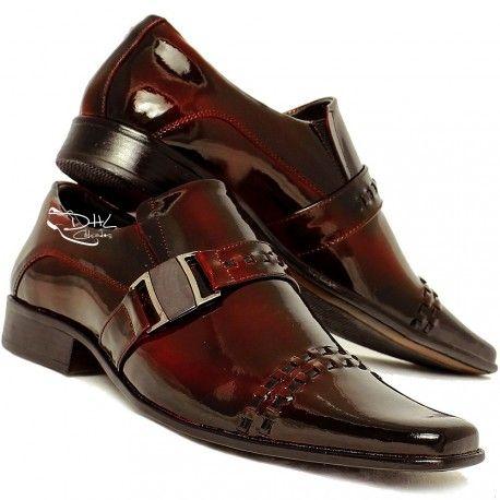 9583d3421fdbc Sapato Social Masculino GOFER com Fivela | Cool shoes | Mens fashion ...