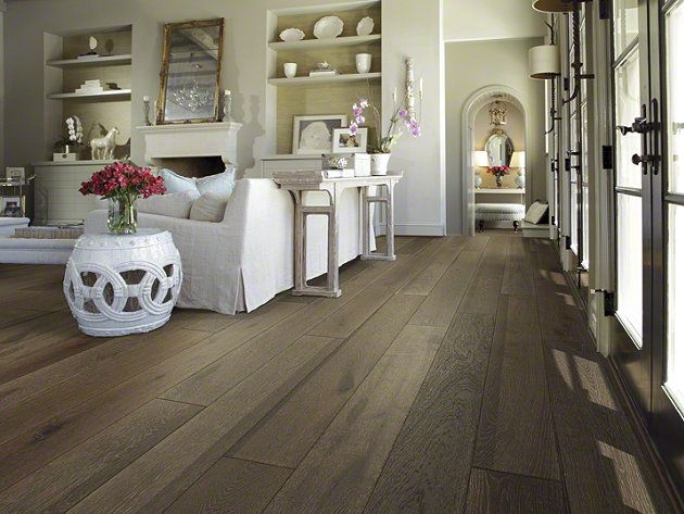 Hardwood Castlewood Oak Sw485 Drawbridge Flooring By Shaw