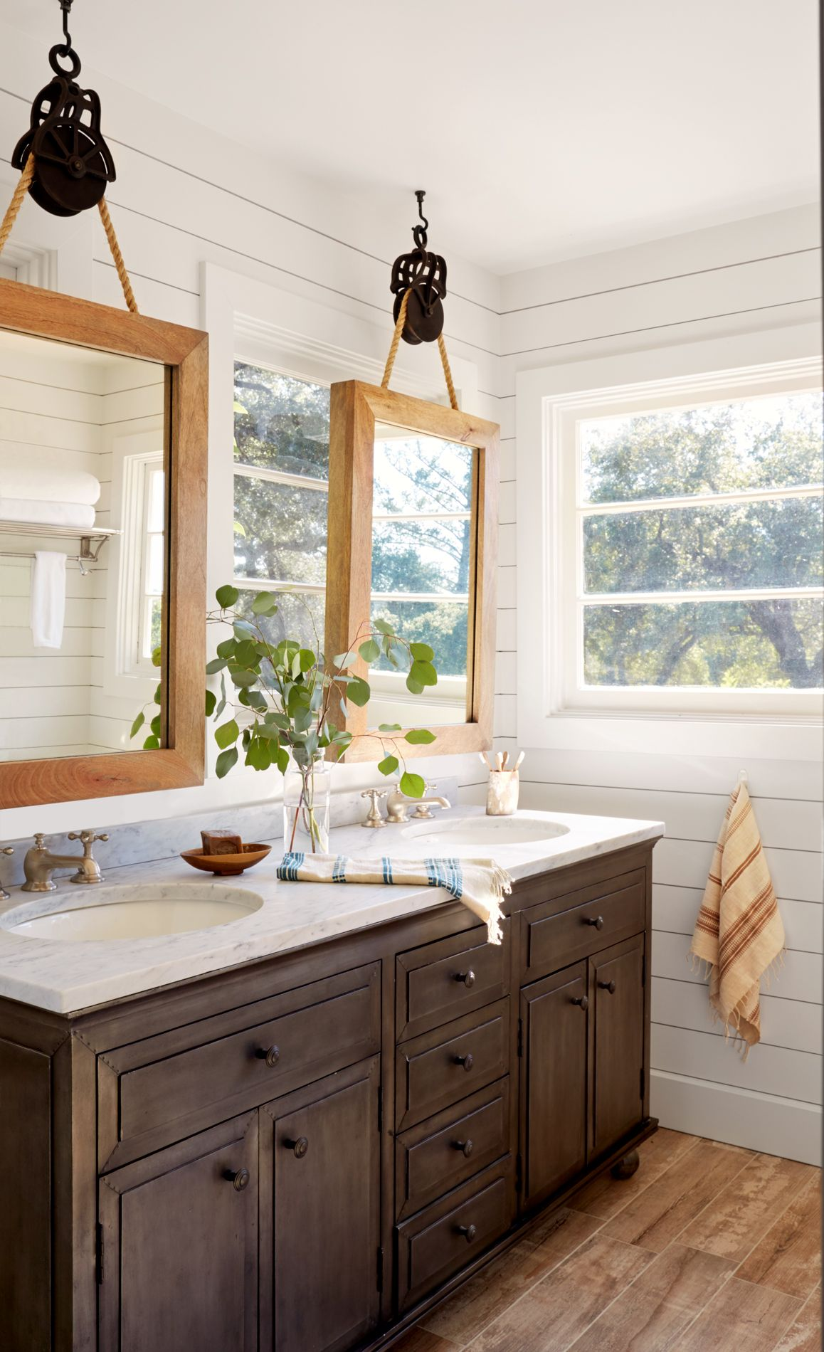 Best 25 Cottage Bathroom Mirrors Ideas On Pinterest