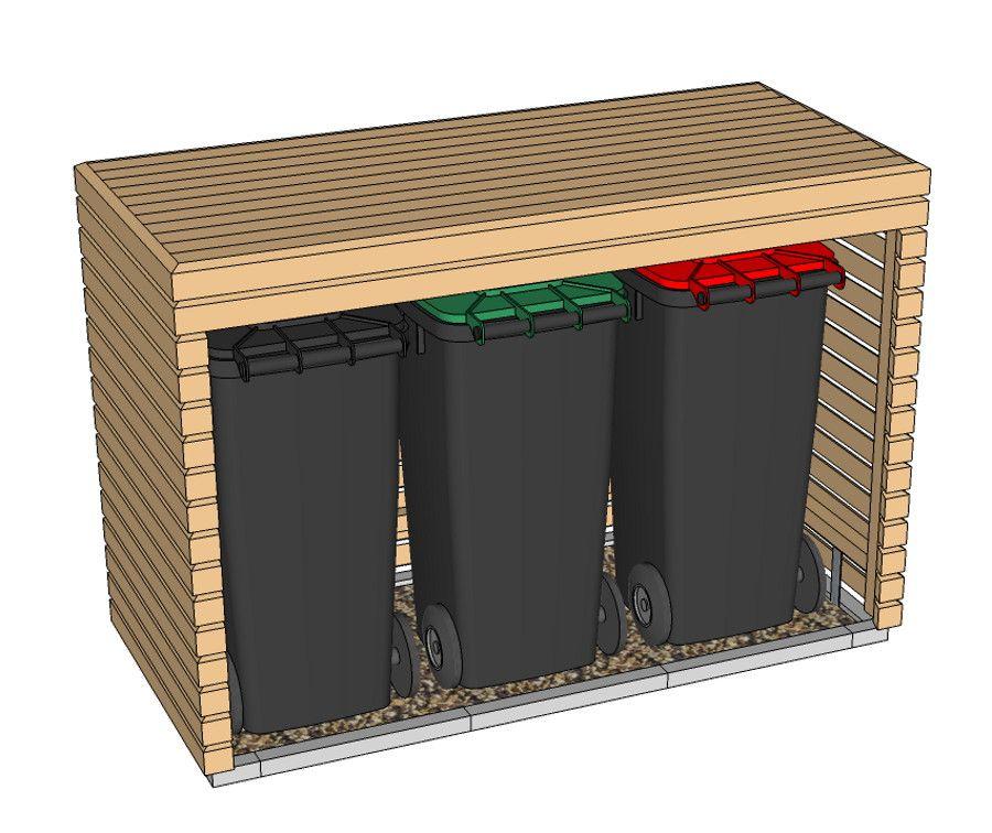 Startschuss für die Außenanlage: DIY Mülltonnenbox #hausdekoeingangsbereichaussen