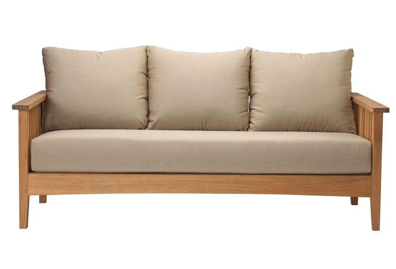 Goa Sofa 3 seats : Outdoor Lounge Classic - Tectona ...