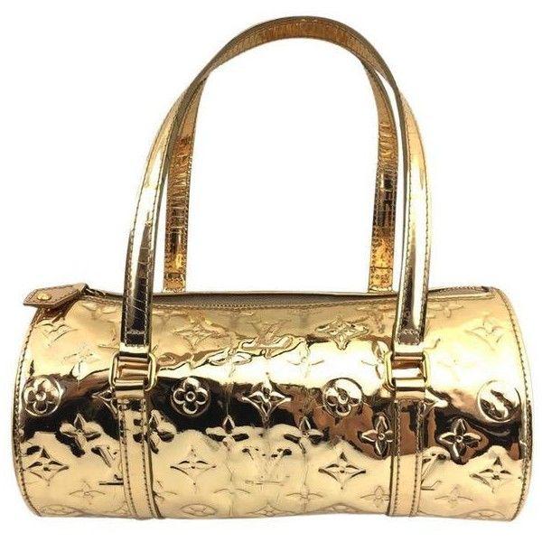 e60dd61d06 Louis Vuitton #11389 Rare Miroir Mirror Papillon 26 Monogram Boston...  ($677) ❤ liked on Polyvore featuring bags, handbags, zipper handbag, white  handbags, ...