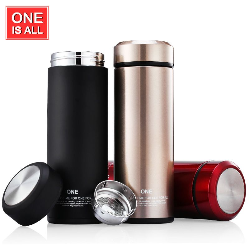 One Is All GYB0023 320ml Thermos Cup Glass Liner Thermos Mug Coffee
