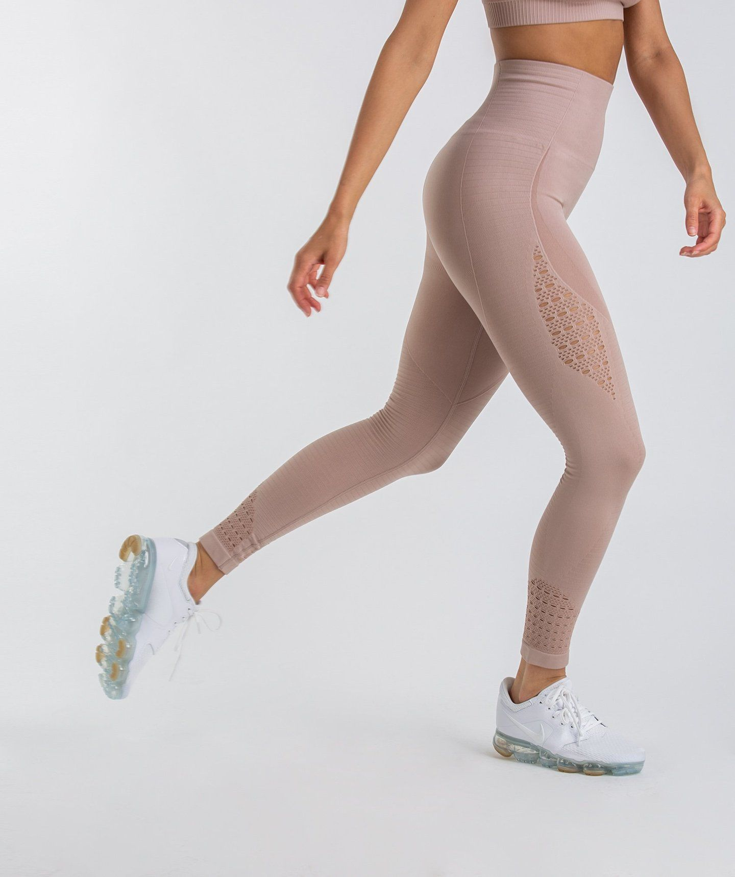 0af746985f6b2 Gymshark Energy Seamless High Waisted Leggings - Taupe | clothes ...