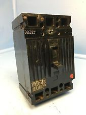 Ge General Electric Ted136125 125a Circuit Breaker 600v 3 Pole Ted 125 Amp General Electric Breakers Pole