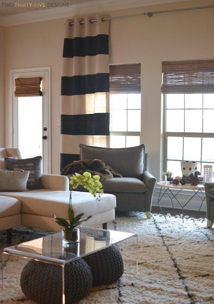 Diy Industrial Curtain Rod Decor Home Industrial Curtains