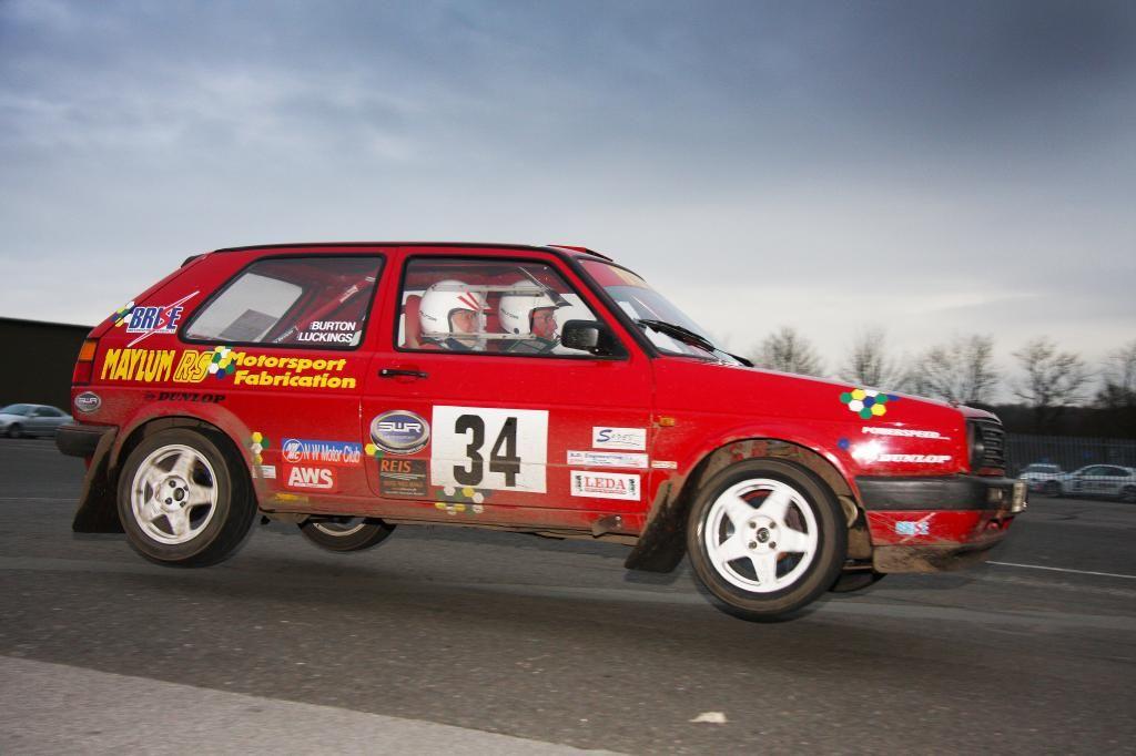 Mk2 Golf GTI tarmac rally car for sale | golf rally | Pinterest ...
