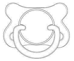 Resultado de imagen para molde mamadera baby shower pintar