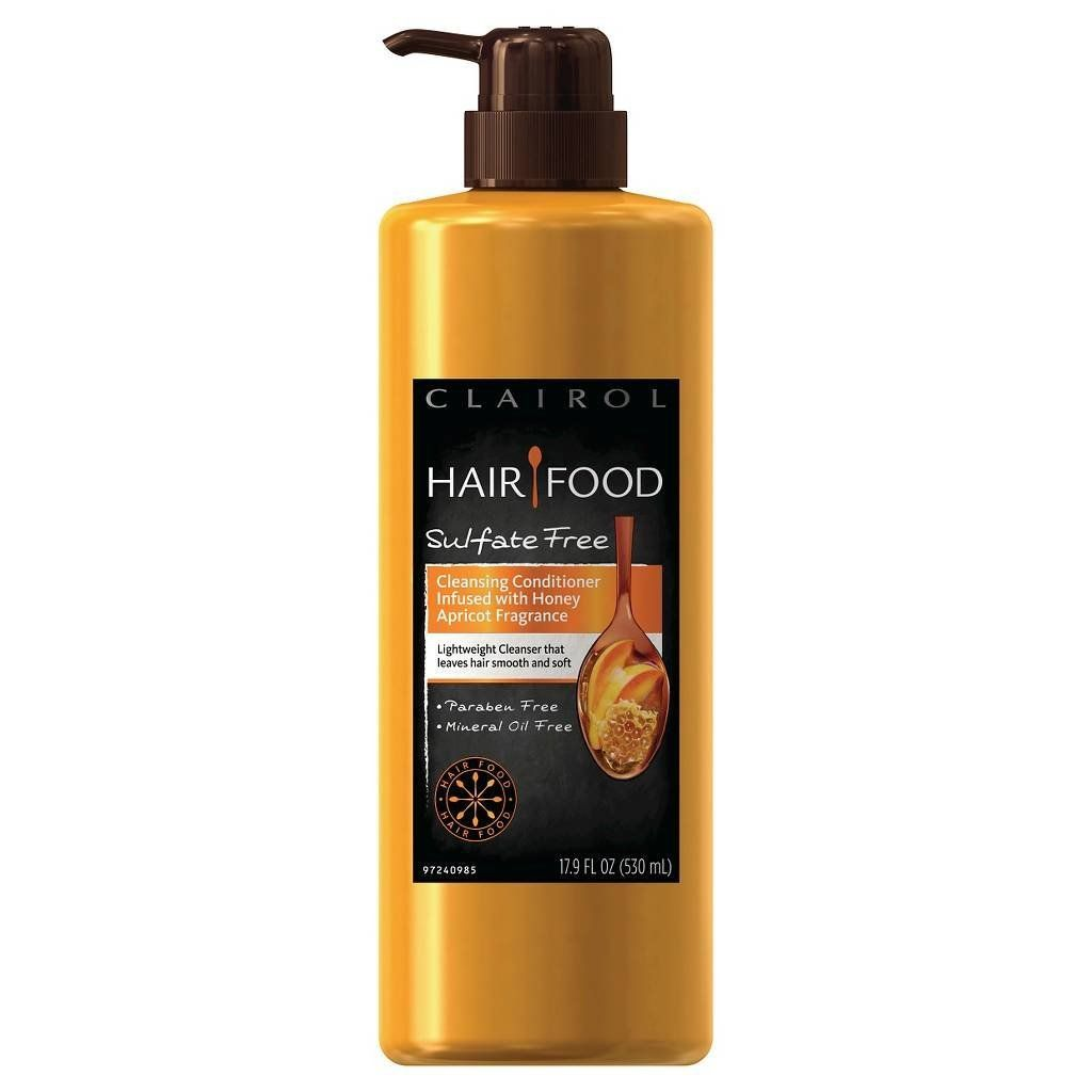 Clairol hair food cleansing conditioner infused with honey