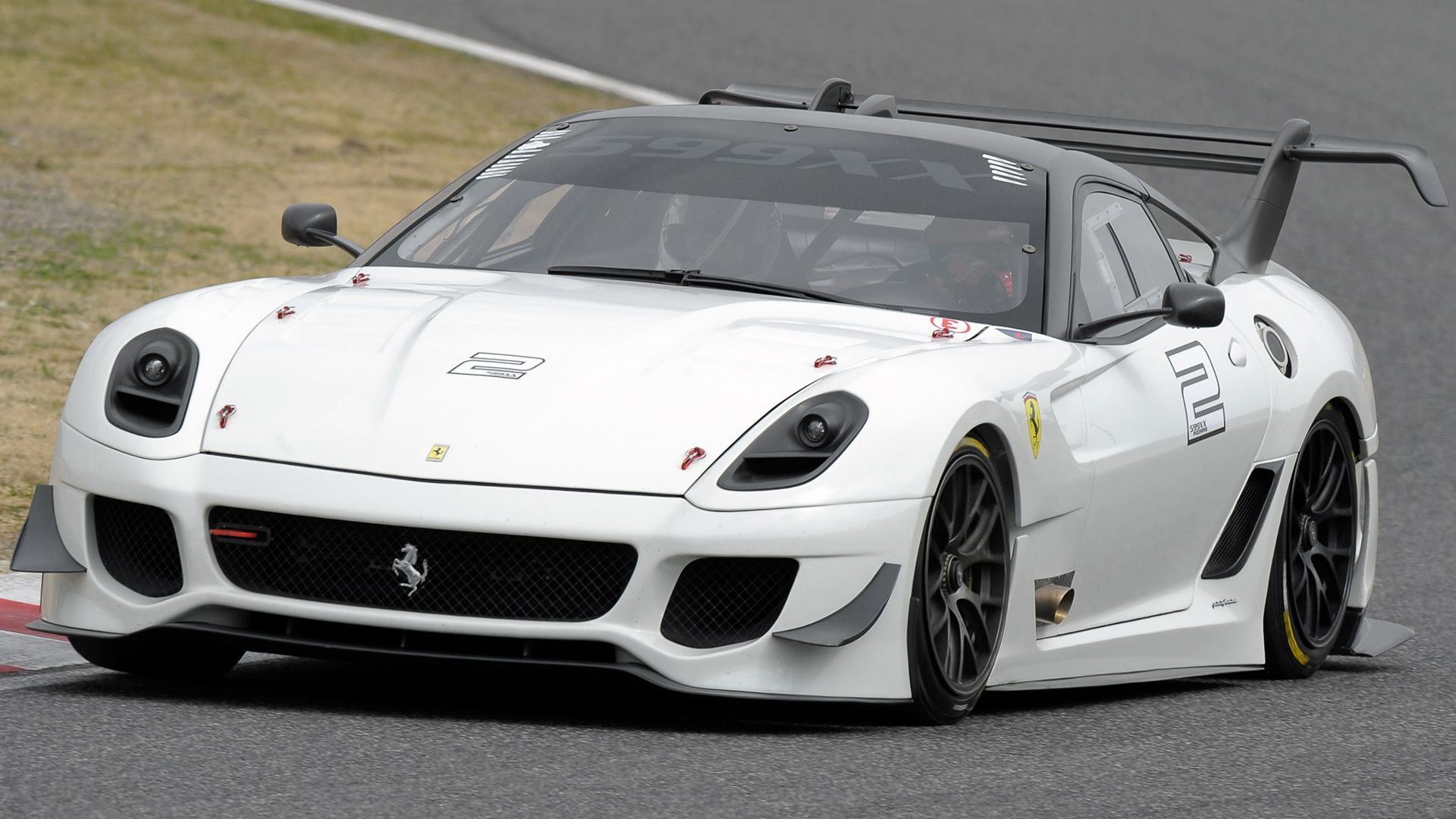 Amazing car ferrari 599 xx evoluzione on hd wallpapers http www hotszots
