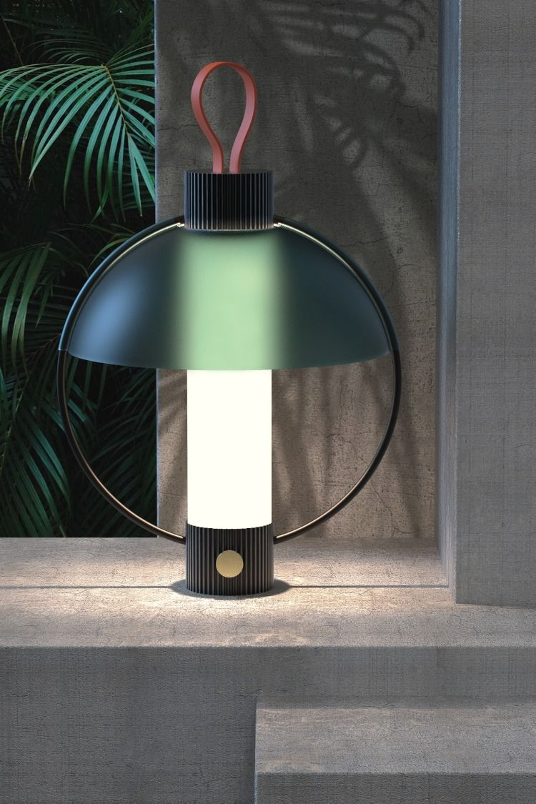 Moun Lantern Inspired By Old Hurricane Lamps Created By Episode Studio Marina Daguet Nathan Baraness Table Lamp Design Lamp Design Lamp