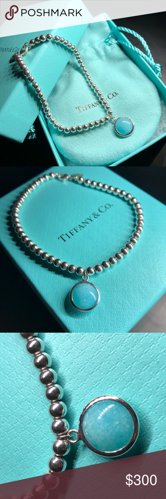 e4fcf5a28 Tiffany & Co. Sugar Stacks Amazonite Bracelet Tiffany & Co. sterling ...