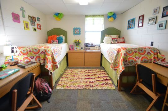 Lsu Dorm At Kirby Smith Hall College Central Dorm Room