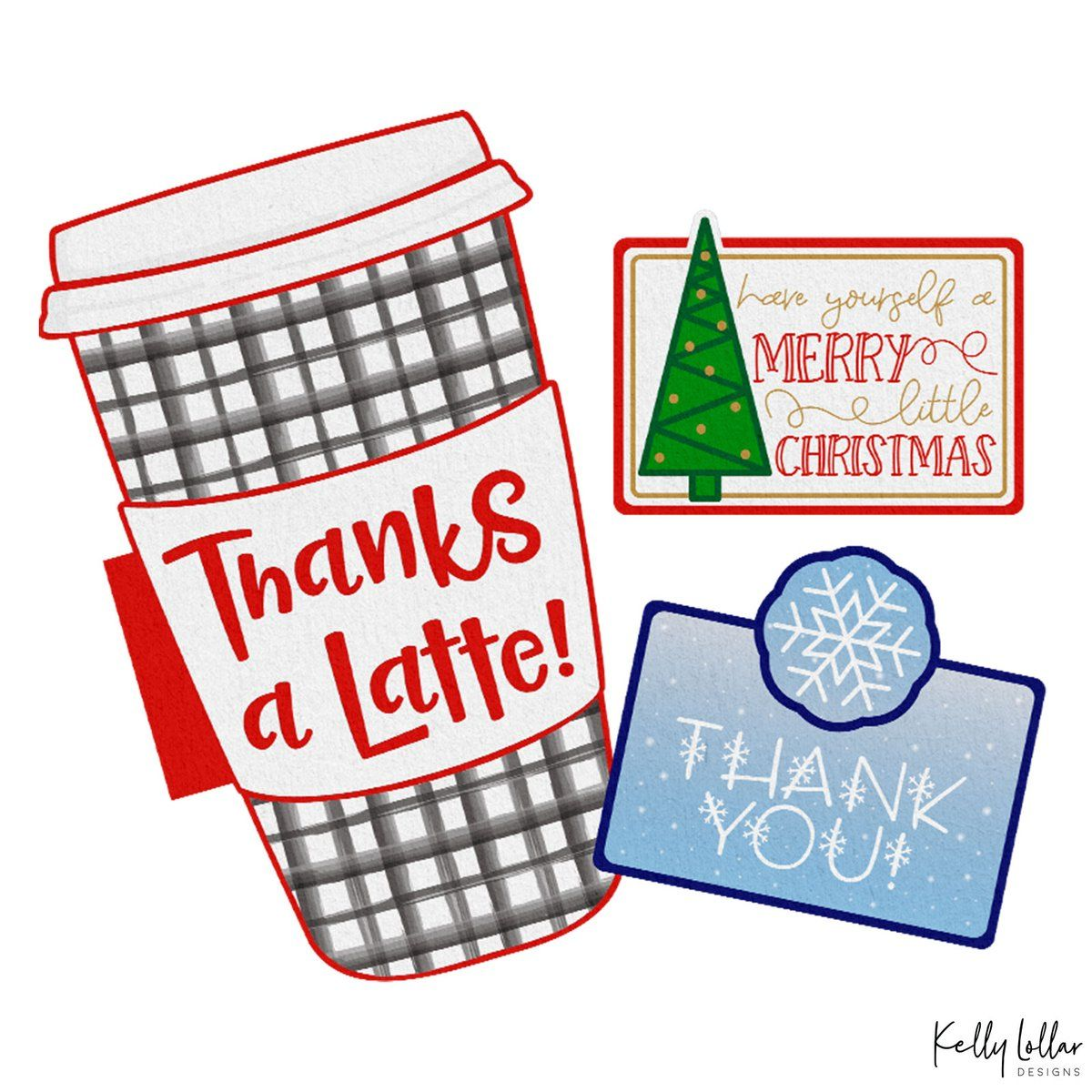 Photo of Free Holiday Gift Card Holder SVG Print & Cut Files