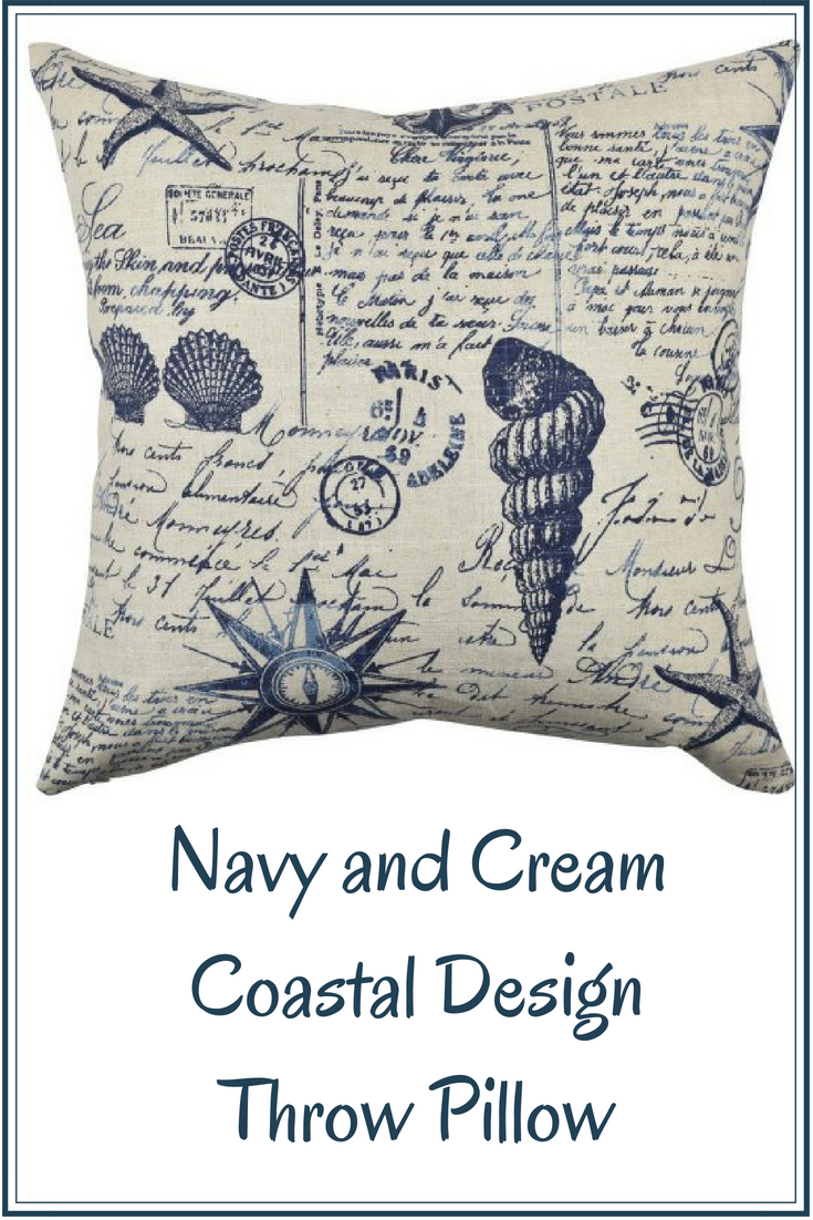 Infuse coastal style into your nautical home with this navy and