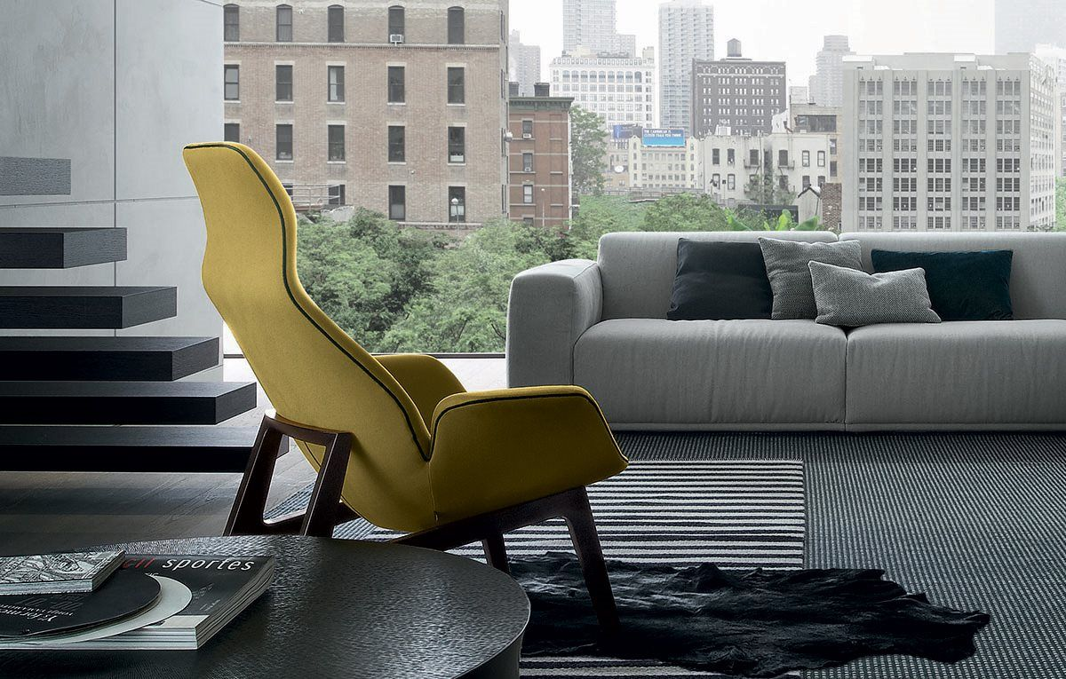 Armchairs Poliform Ventura Lounge Lounge Armchair Poliform Lounge