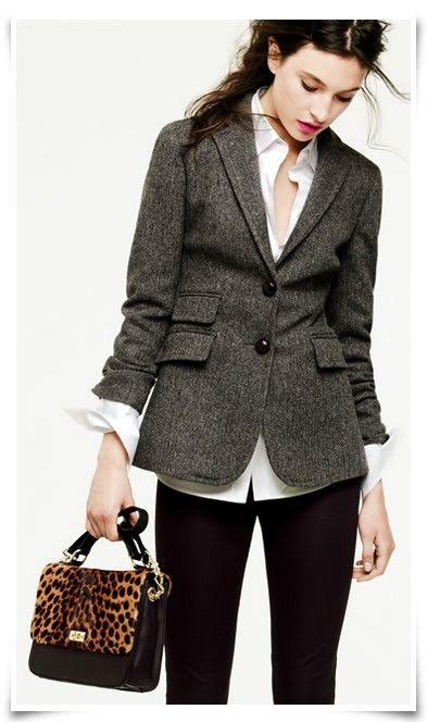 double pocket blazer