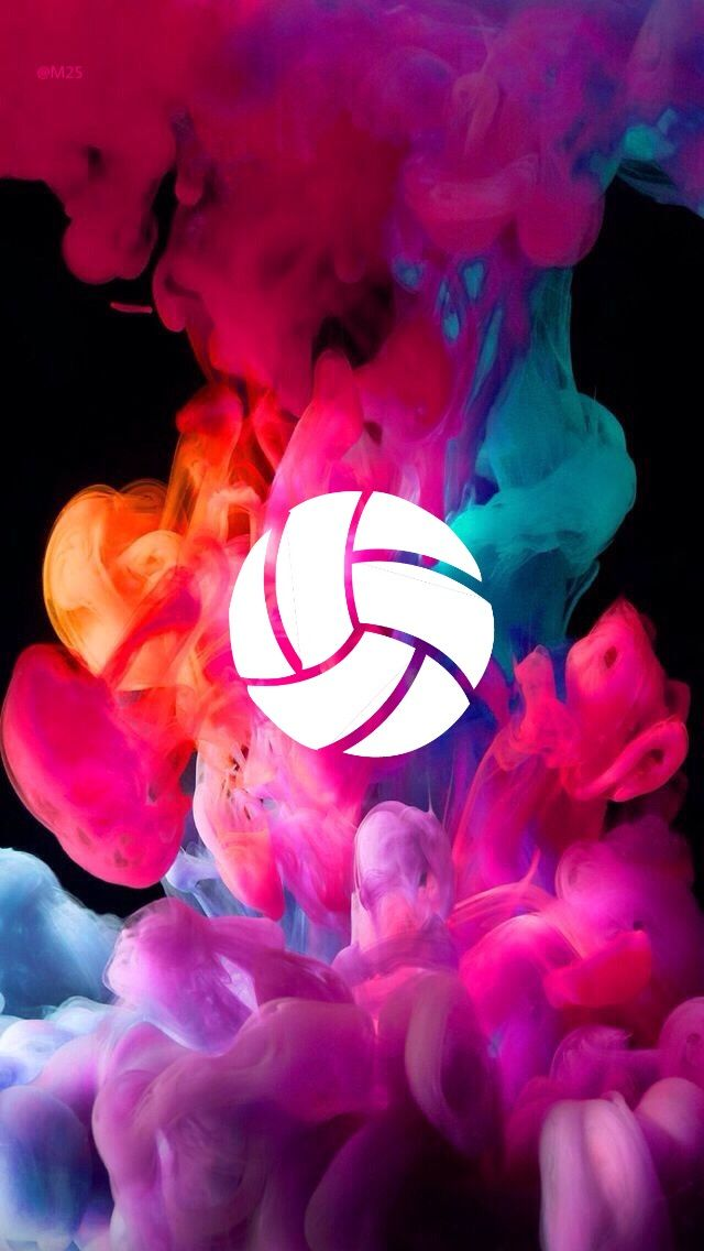 Volleyball background wallpaper 18 Smoke wallpaper